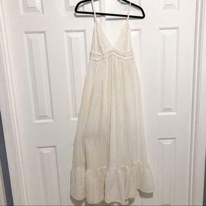Victoria's Secret Cotton & Silk Maxi Sleep Gown